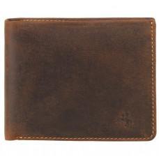 Винтажный мужской кошелёк из натуральной кожи Visconti VSL33 OIL TAN