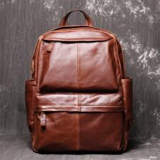 Коричневый кожаный рюкзак Vintage Vt0268C