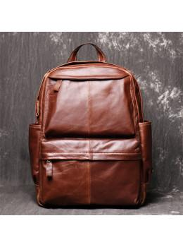 Коричневий шкіряний рюкзак Vintage Vt0268C