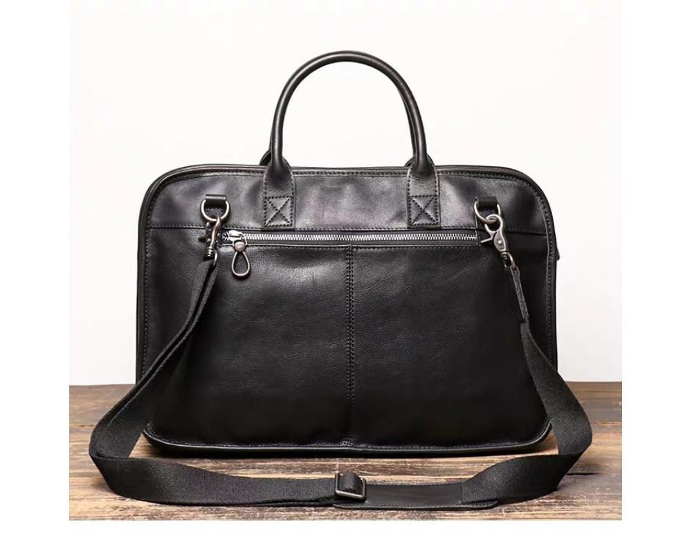 """Стильная кожаная сумка под ноутбук 15""""6 дюйма Vintage Vt1027A - Фото № 2"""