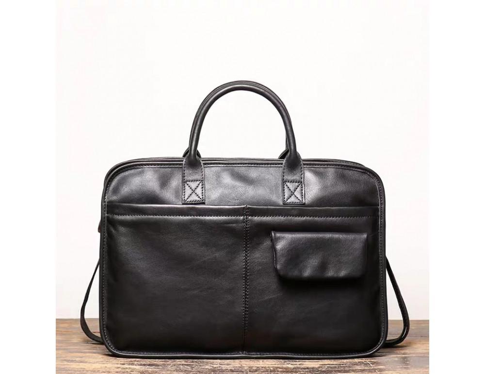 """Стильная кожаная сумка под ноутбук 15""""6 дюйма Vintage Vt1027A - Фото № 1"""