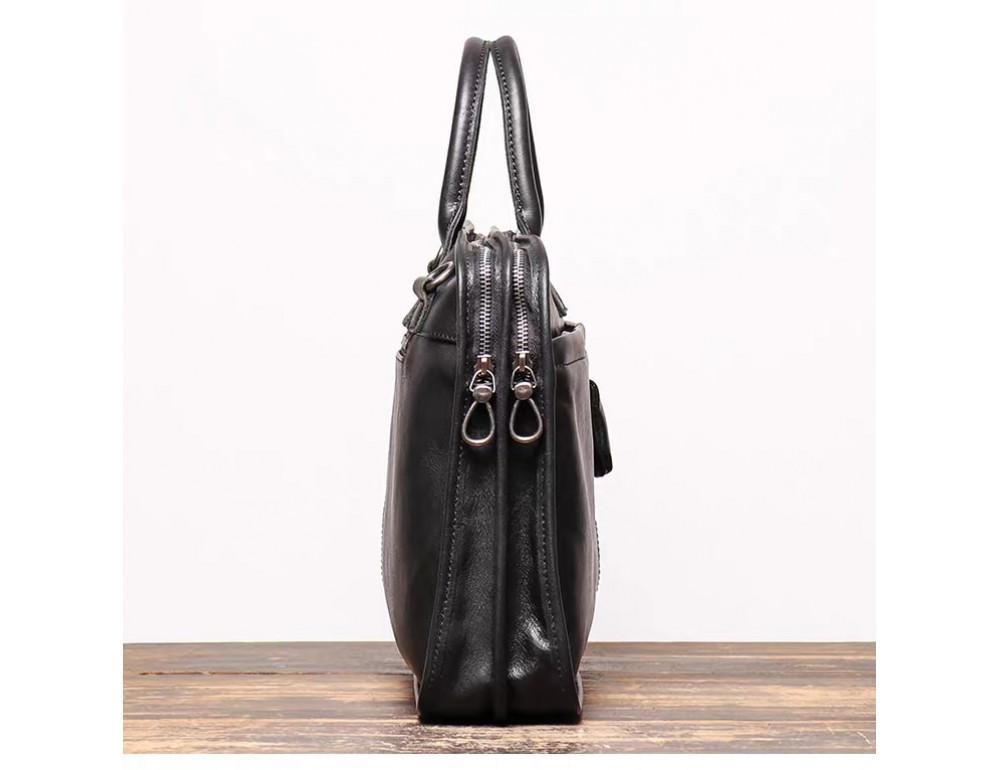 """Стильная кожаная сумка под ноутбук 15""""6 дюйма Vintage Vt1027A - Фото № 4"""
