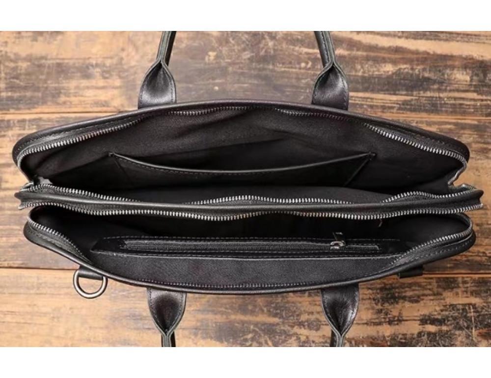 """Стильная кожаная сумка под ноутбук 15""""6 дюйма Vintage Vt1027A - Фото № 8"""