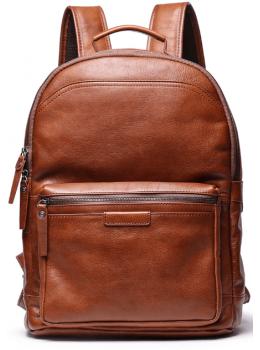 Коричневый кожаный рюкзак для города Vintage Vt88120C