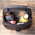 Чёрный кожаный месседжер мужской Vintage Vt99887A - Фото № 106