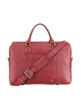 Червона ділова сумка жіноча Visconti WB70 RED Harriet 13 (Red)